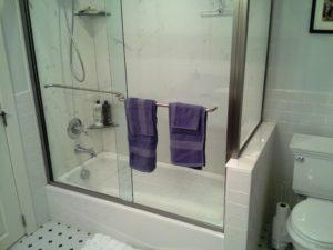 Glass Shower Bath